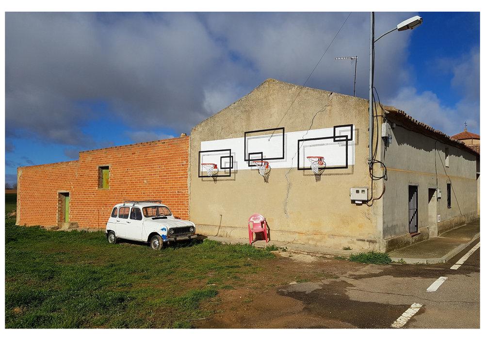 Reimagining basketball backboards background