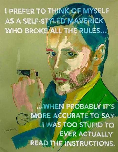 [david]-[kramer]-[painting]-[self styled maverick]