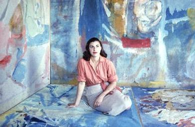 Portrait of artist Helen Frankenthaler
