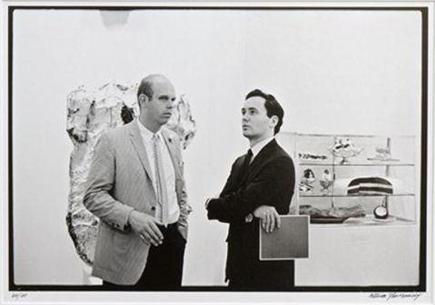 Robert Indiana and Claes Oldenburg II