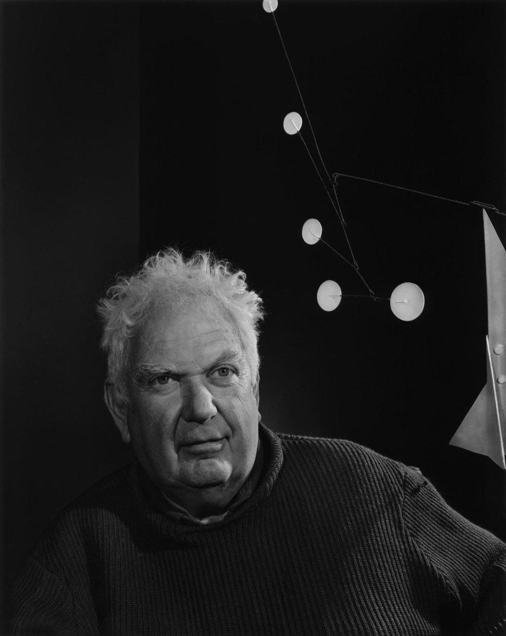 Portrait of artist Alexander Calder
