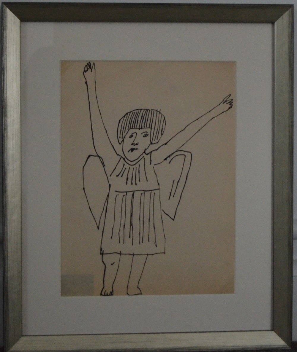Andy Warhol - Angel (Hands Raised) - Additional Information