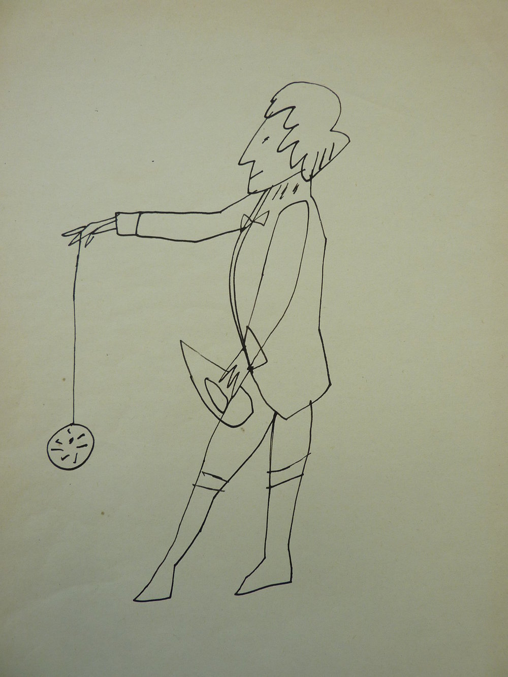 Andy Warhol - Standing Man With Yo-Yo - Additional Information