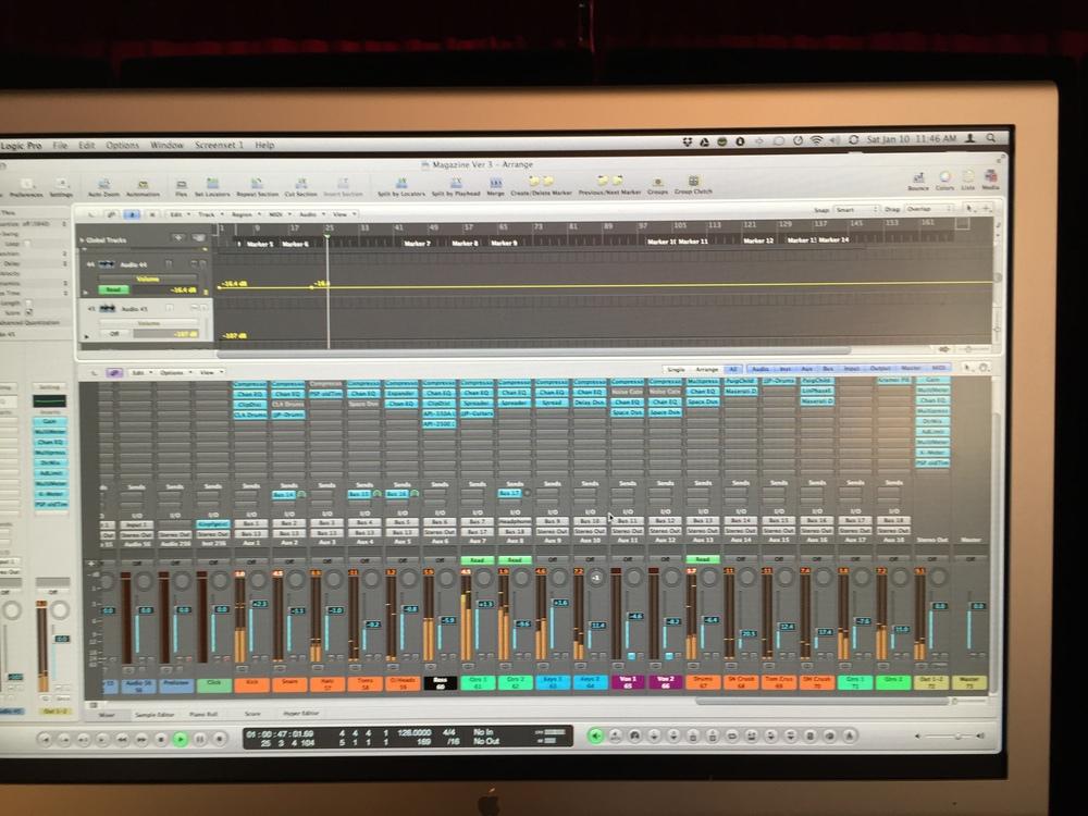 Mix In Progress