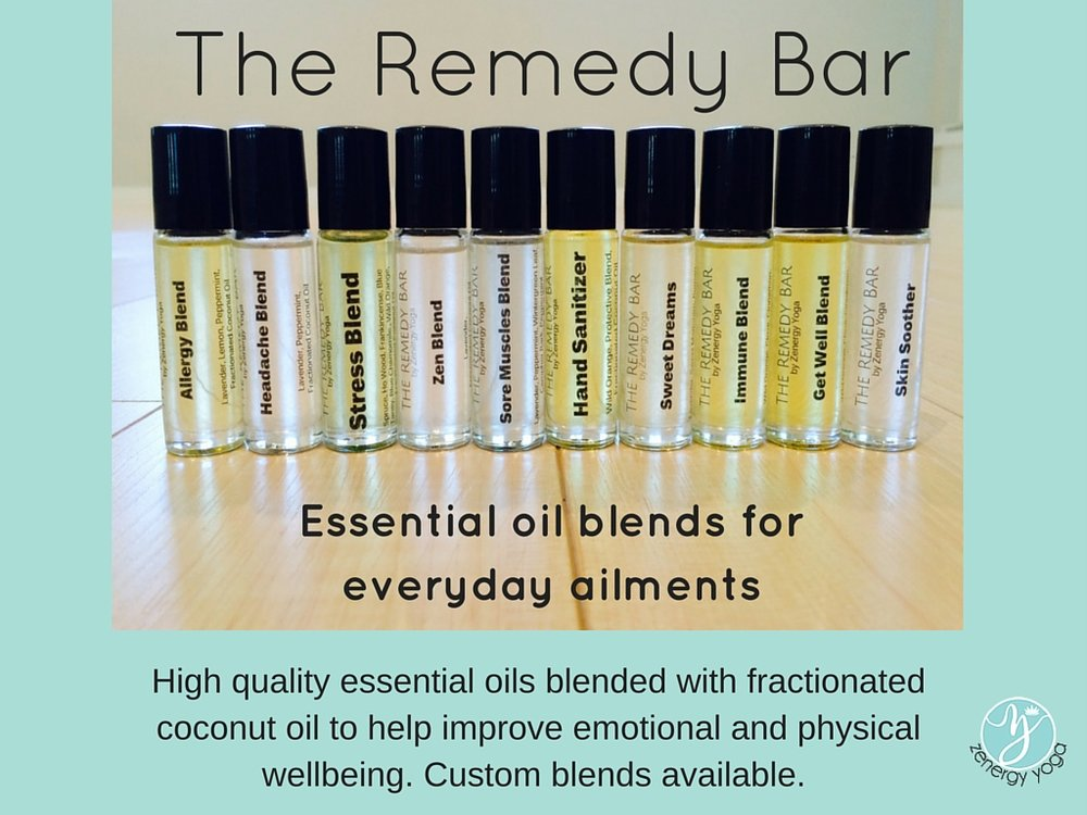 Essential Oil Blends $15 each or 2 for $25