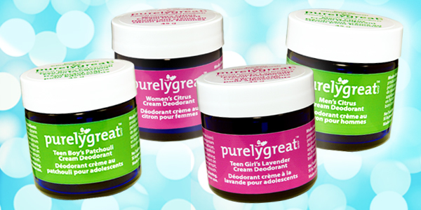 PurelyGreat - All Natural Deodorant $13