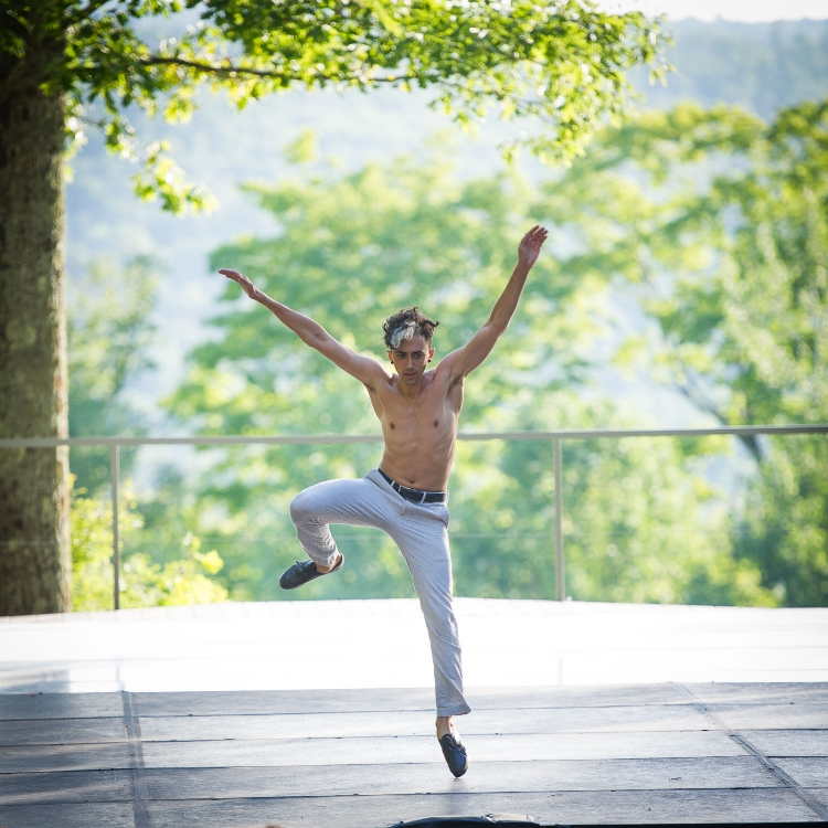 photo by Christopher Duggan for Jacob's Pillow Dance Festival