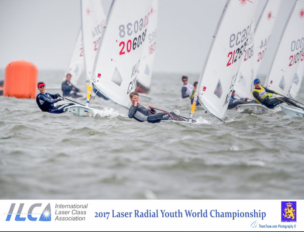 LIAM BRUCE - 2017 Laser Radial Youth Worlds - Medemblik.jpg