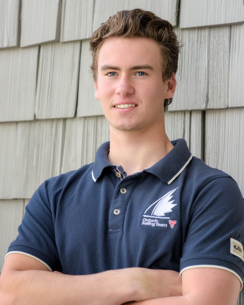 Liam Bruce - Ontario Sailing Team