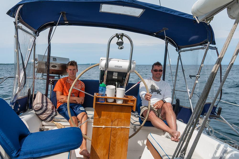 ELLE BRUCE - SAIL TO HOPE ISLAND ON LAURENTIDE - Liam and Stuart - 20130825-8981-WM-1500.jpg