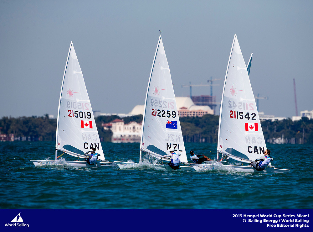 Liam Bruce (CAN 215019), Josh Armit (NZL 212259) and Rob Davis (CAN 211542)