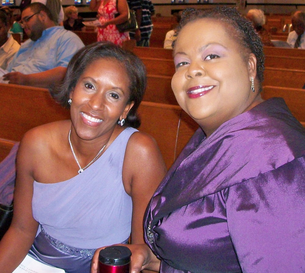 Dr. Donna Cox and Bonita Franklin - Festival of Spirituals