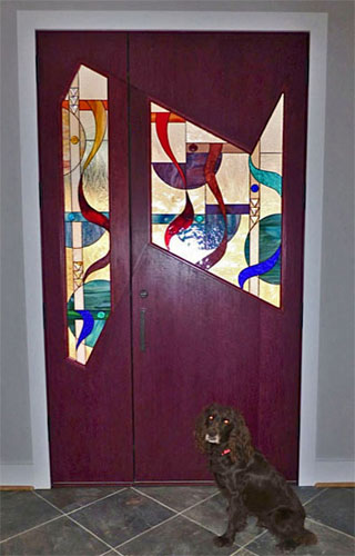 Custom Entry Door and Sidelight