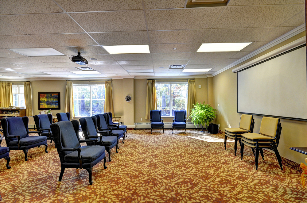 Granite Ridge Activity Room. Click to view larger image.