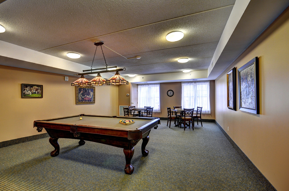 Granite Ridge Billiard Room. Click to view larger image.