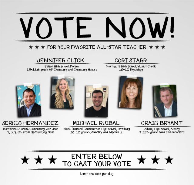 Voting Period Webpage Header