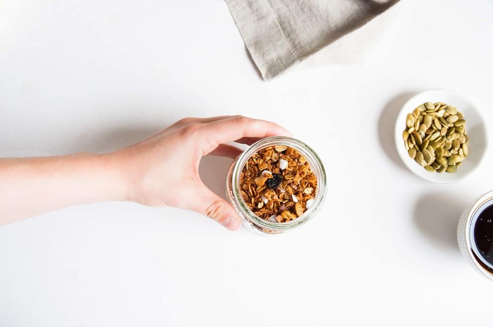 homemade-granola-fried-parsley