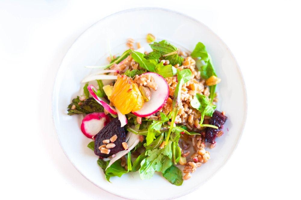 farro-beet-arugula-salad-fried-parsley