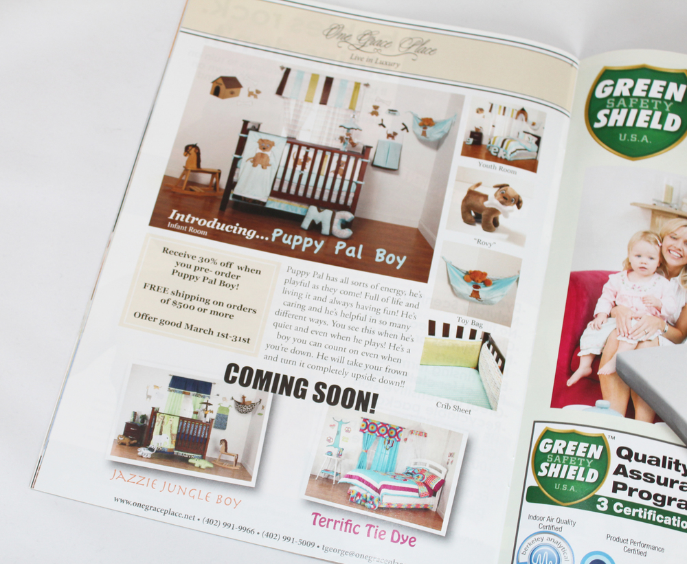 Baby Maternity Magazine Ad | March 2013