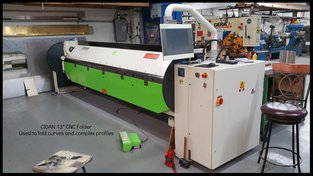 13' CNC Folding Machine