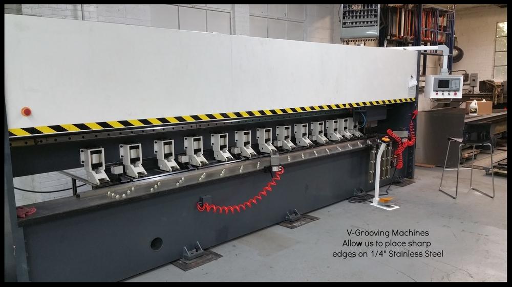13' V-Grooving Machine