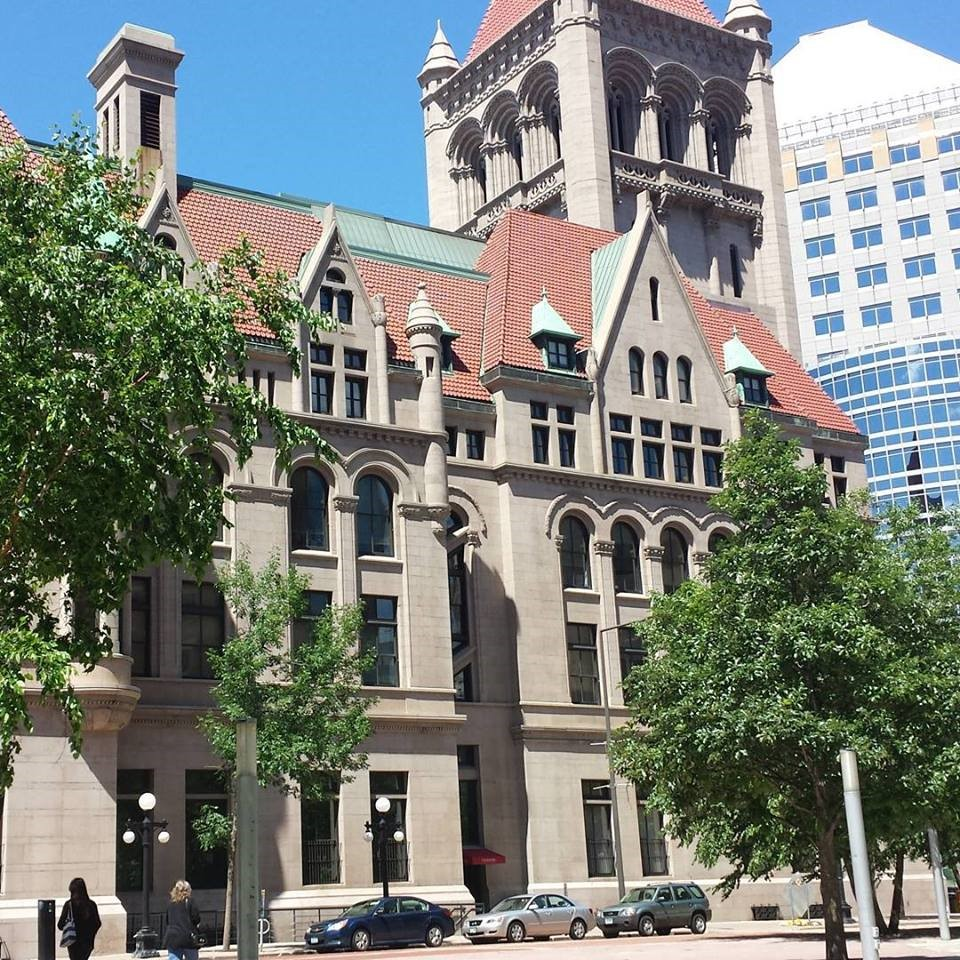 Landmark Building in St. Paul, MN.