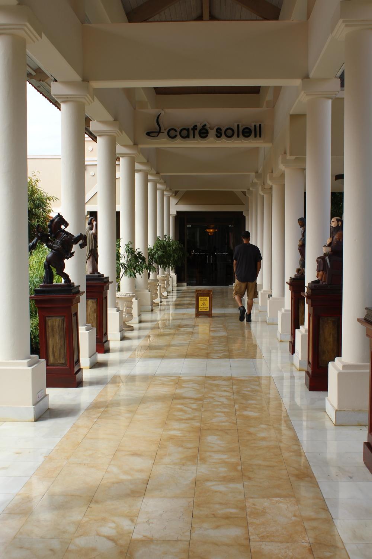 Cafe Soleil for breakfast
