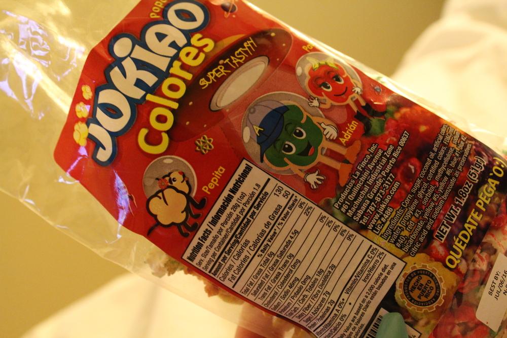 Popcorn - product of PR