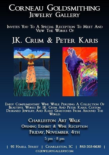 J.K. Crum & Peter Karis Opening Reception