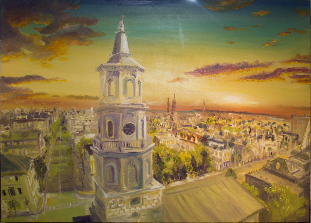 """Sunrise Over St. Michael's"""
