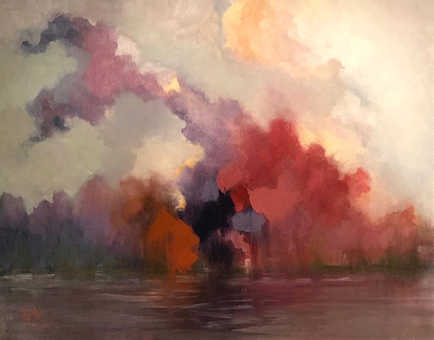 'Blazing Sunset'