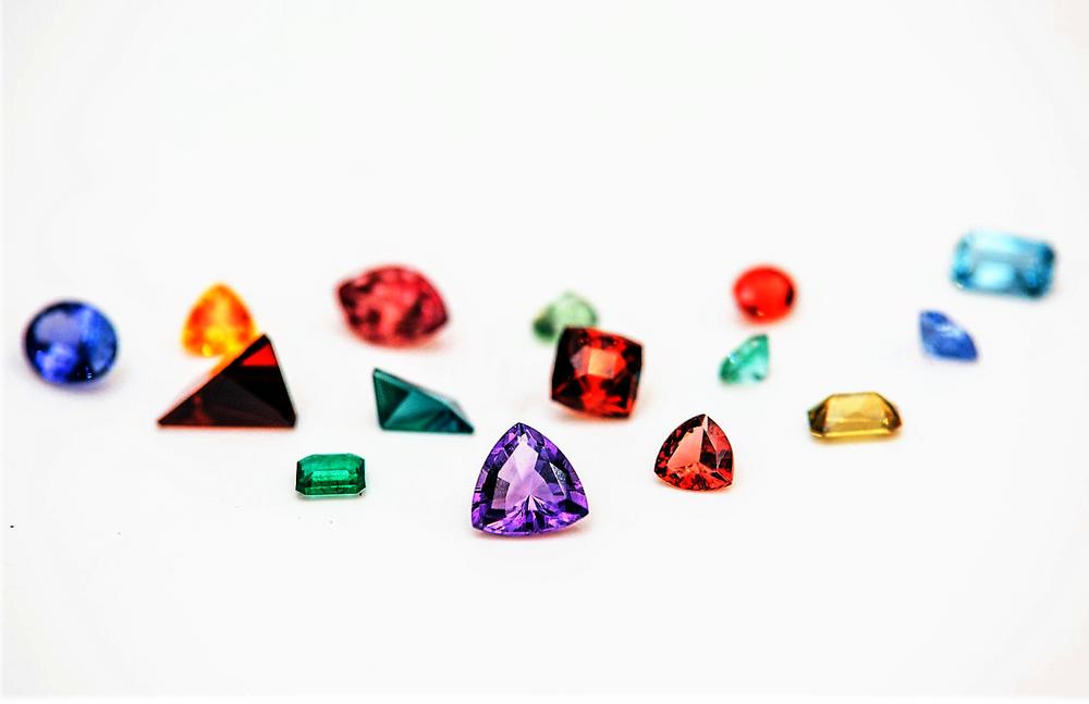 Rare Colorful Gemstones