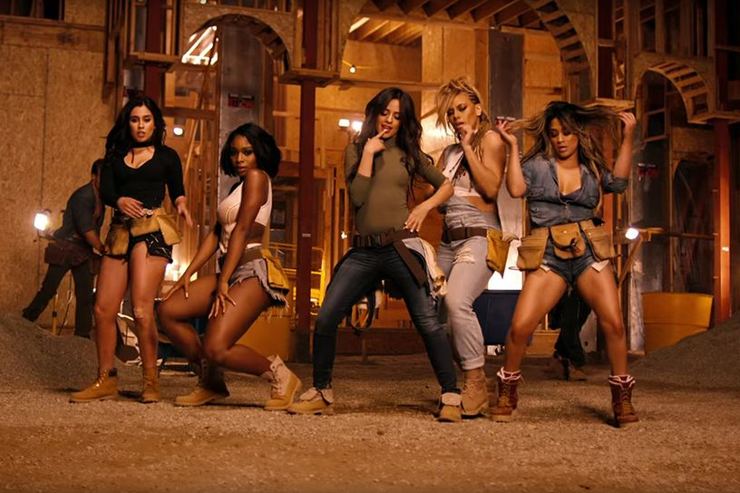 Fifth Harmony Make Quick Work Out of A Construction Site, But It's Likely to Be Last Time You'll See Co-Ordinated Dancing There