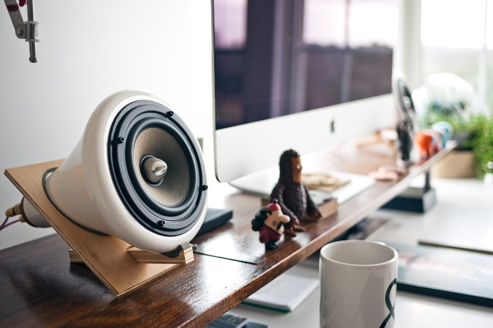 Whether you work from home or with a team in a shared space, there's always room for music.