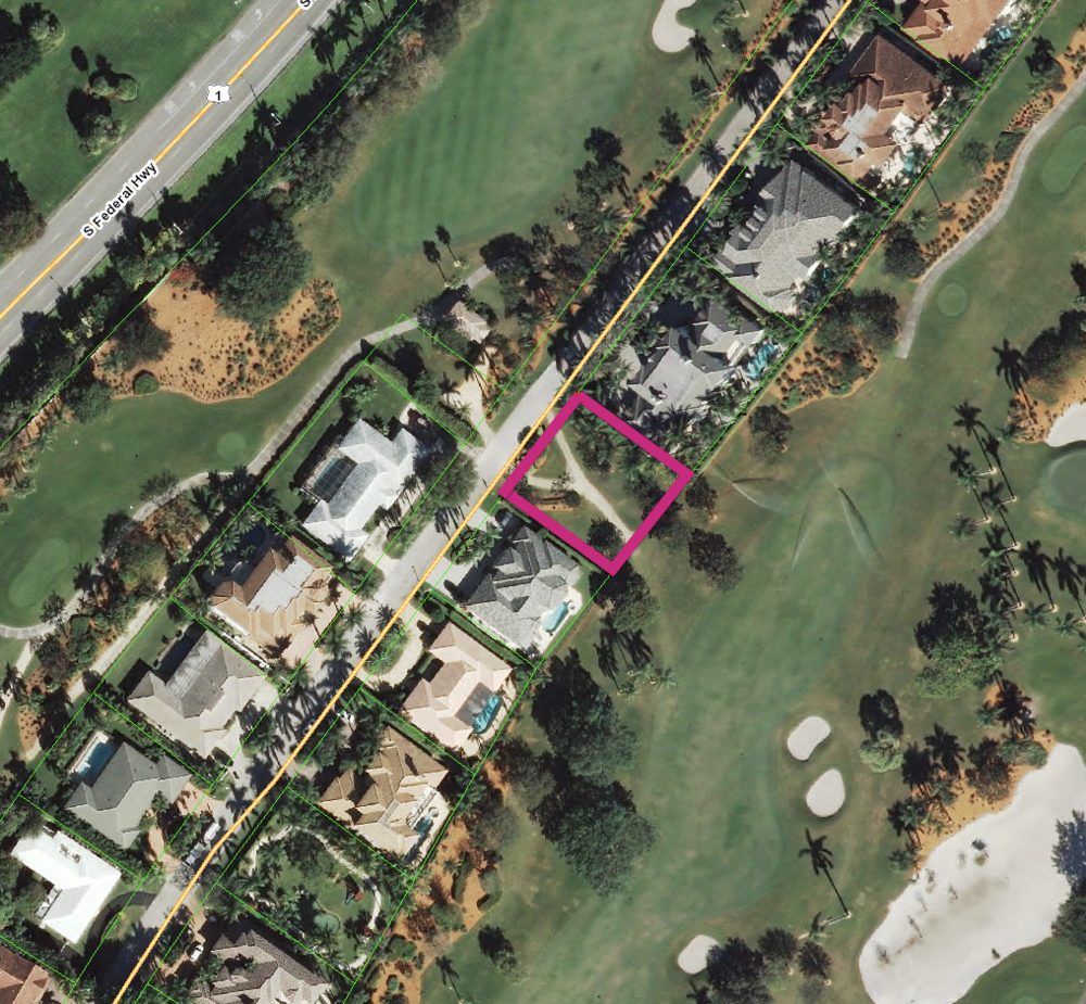 1744 Thatch Palm Road - Golf Lot (Land) Royal Palm Yacht & Country Club $1,753,000 Off-Market Sale, Sold Price