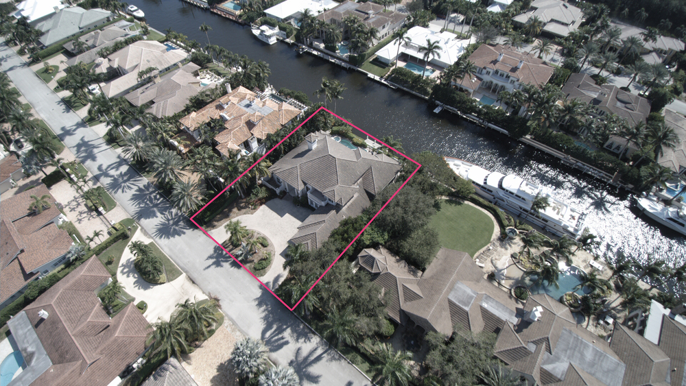 224 W. Coconut Palm Road - Waterfront Royal Palm Yacht & Country Club $3,000,000 Off-Market Sale, Sold Price