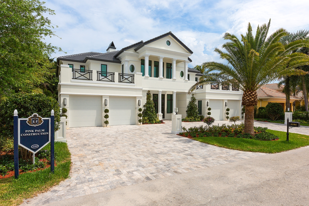 Royal Palm Yacht & Country Club   New Construction - Offered fully furnished by Interiors by Steven G. 2184 Acorn Palm Road 5 beds 7 baths 6,811 sq ft Year Built: 2015   * SOLD *