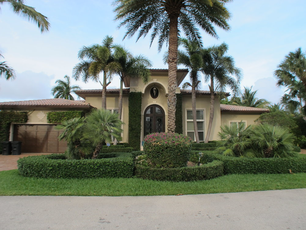 2362 W. Silver Palm Road Royal Palm Yacht & Country Club $1,900,000 Off-Market Sale, Sold Price