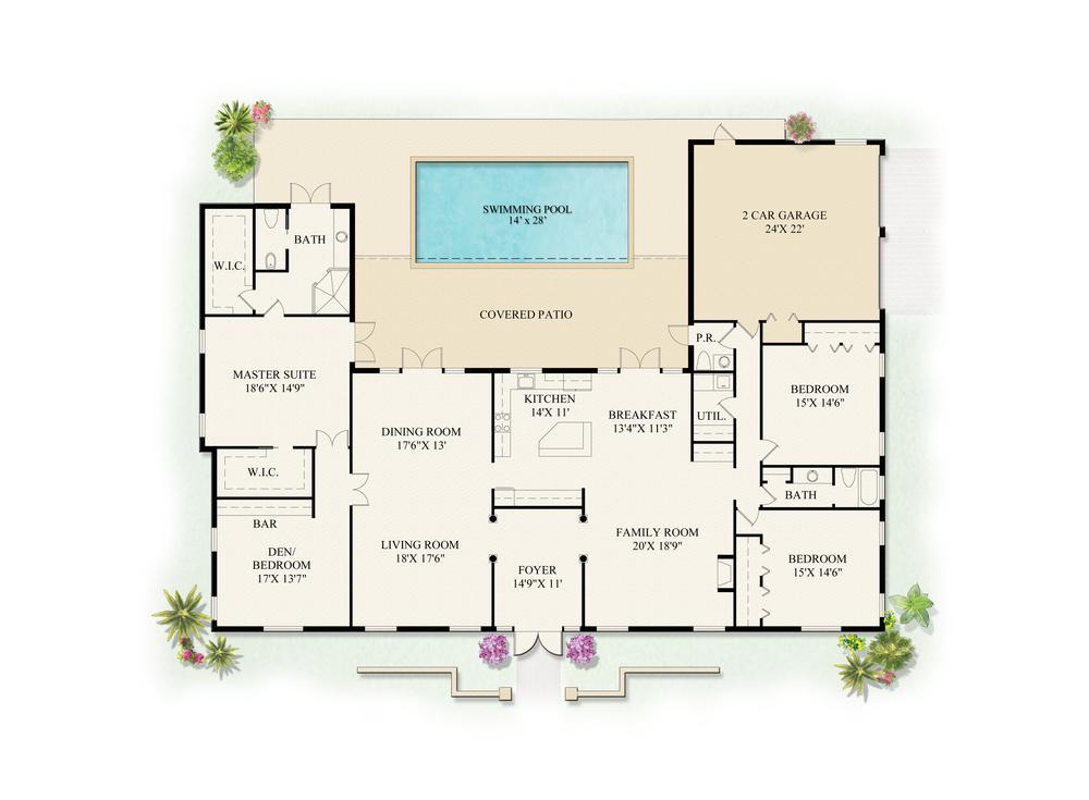 2498 Date Palm Road Floor Plan