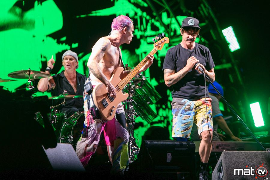 Red hot Chili peppers à Osheaga 2016