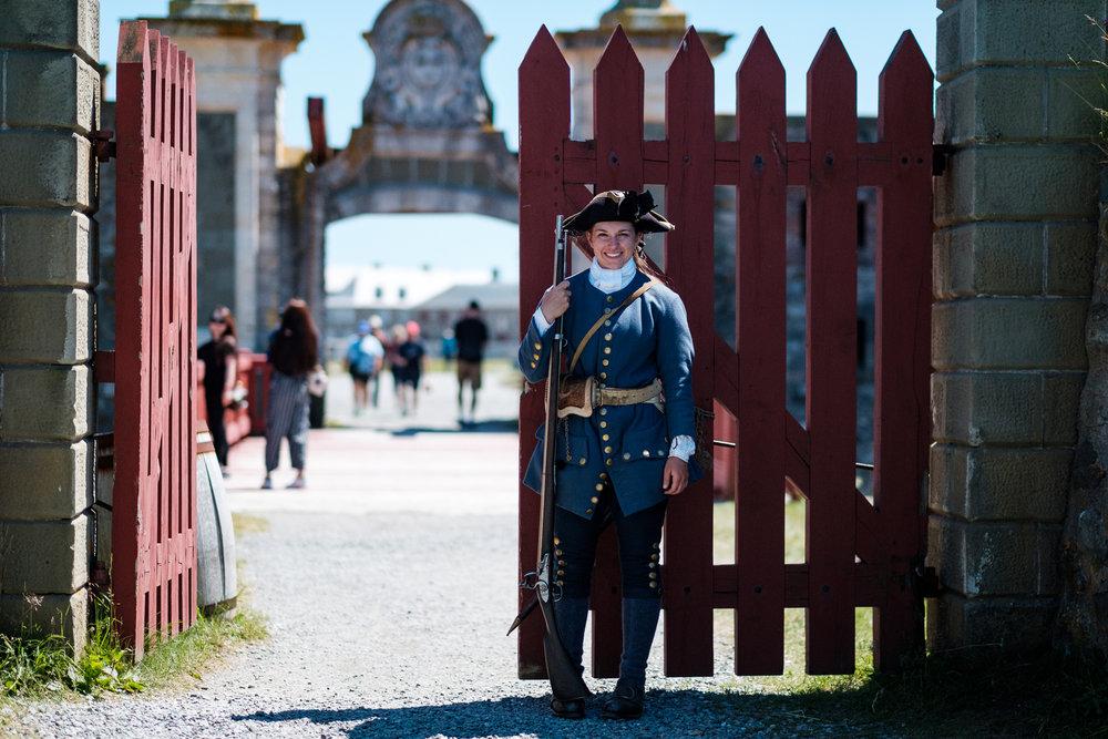 Forteresse de Louisbourg / Nouvelle Écosse 2017