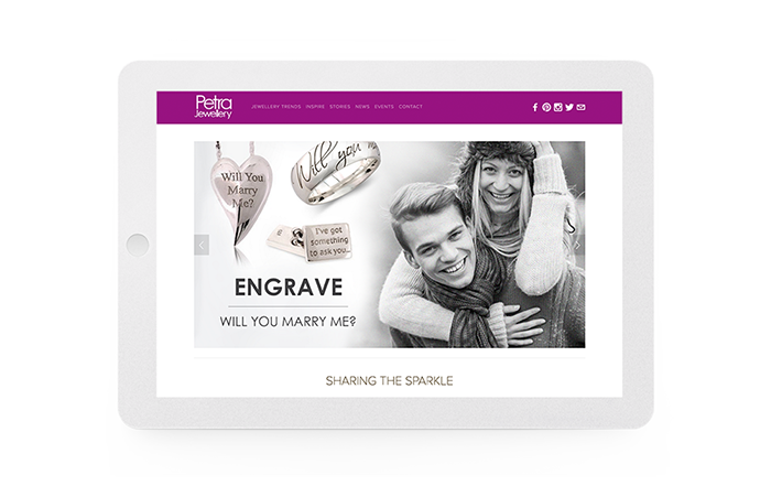 """Zebrative understood our business in a flash and created a website design that was exactly what we wanted; something that other designers had struggled to achieve. As well as being an extremely talented creative team they also have an incredibly proactive approach, communicate well and always meet our deadlines."" - Mitch Lloyd, Petra Jewellery"