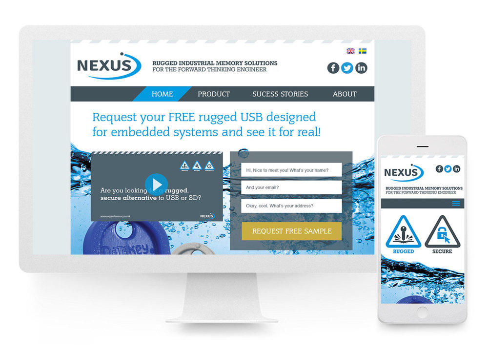Nexus website