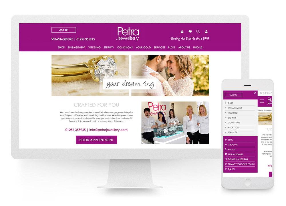 Petra website