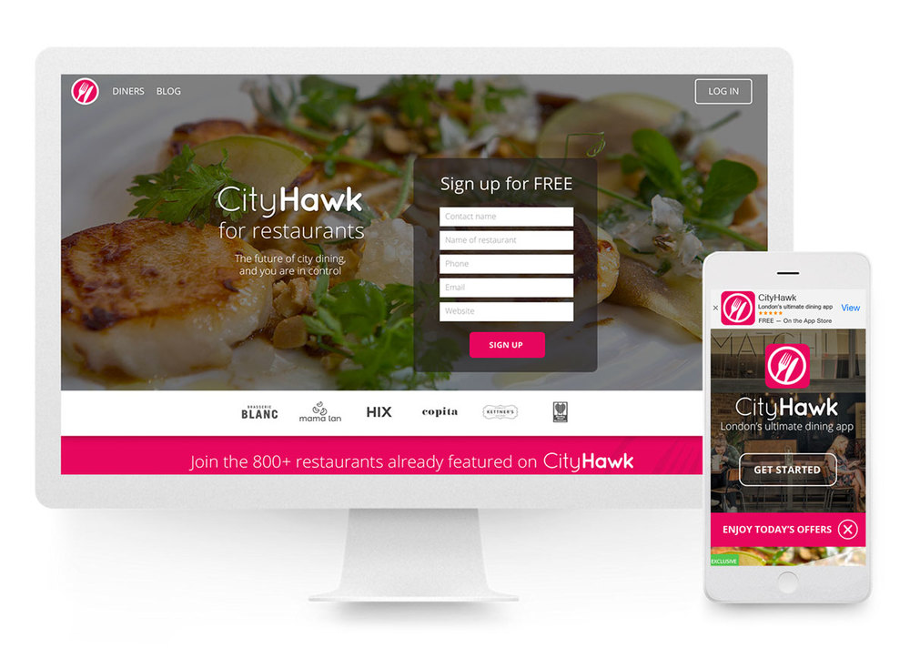 CityHawk website