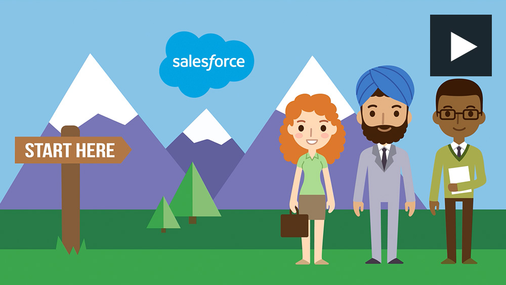 SALESFORCE - Animation demo