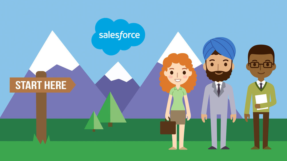 Salesforce - ANIMATION • ILLUSTRATION