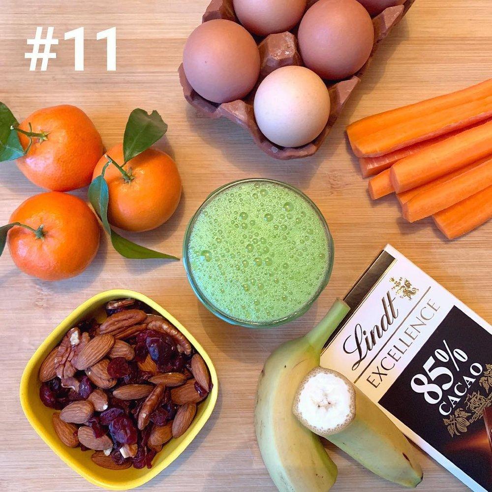 Health snacks nutrition advice wellness