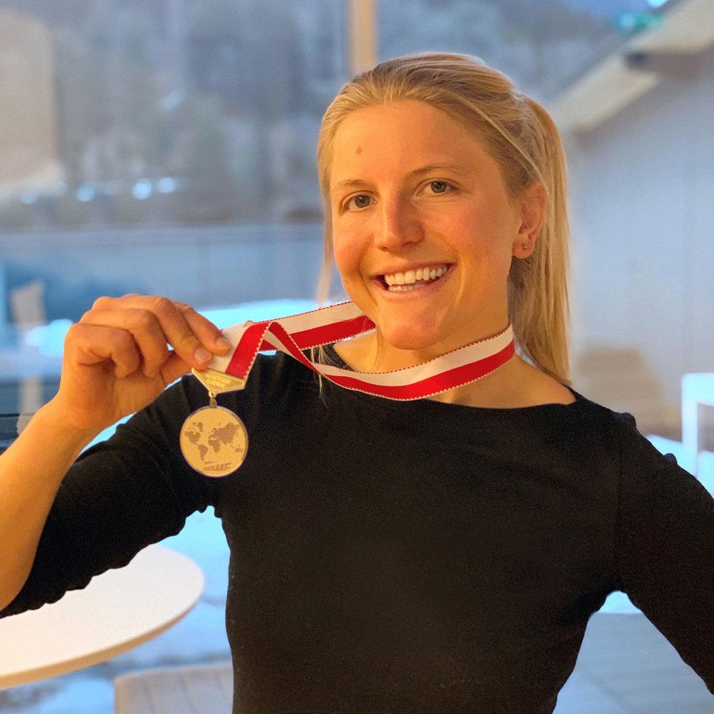 Steph Caller Wakeboard Gold Medal
