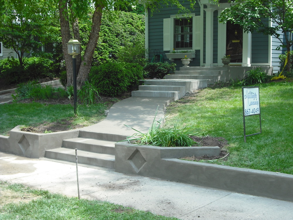 MATTINGLY CONCRETE INC PORCH